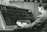 Still frame from: Fifties Advertising: UNIVAC Computer Commercial (5 February 1956) (Ad 2 of 2)