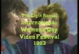 Still frame from: 8th International Women's Day Video Festival: Women and Discovery Part 4