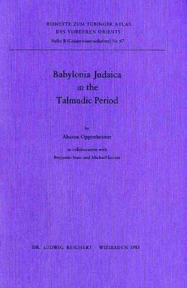 Babylonia Judaica in the Talmudic Period (Open Library)