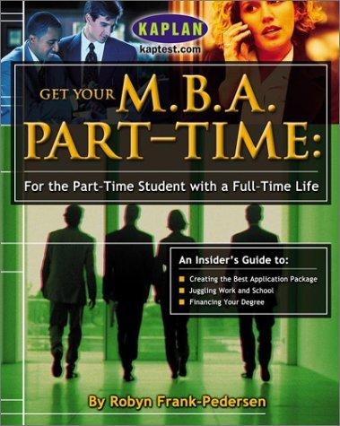 Download Get your M.B.A. part-time