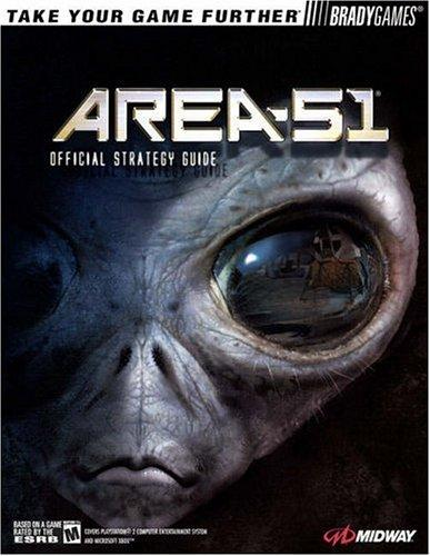 area 51  official strategy guide by bradygames