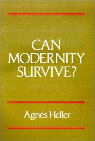 Download Can Modernity Survive