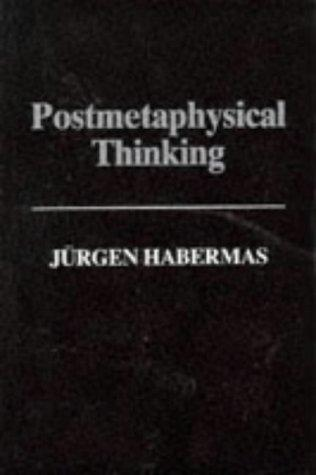 Download Post-Metaphysical Thinking