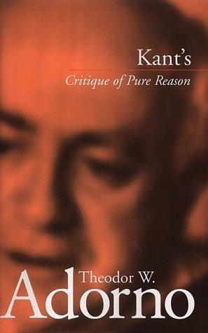 Kants Critique of pure reason, 1959