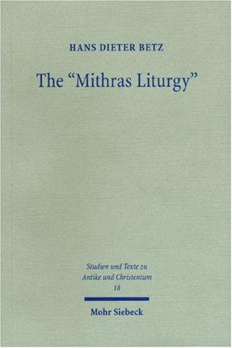 "Download The ""Mithras Liturgy"""