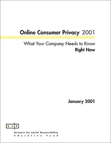 Online Consumer Privacy
