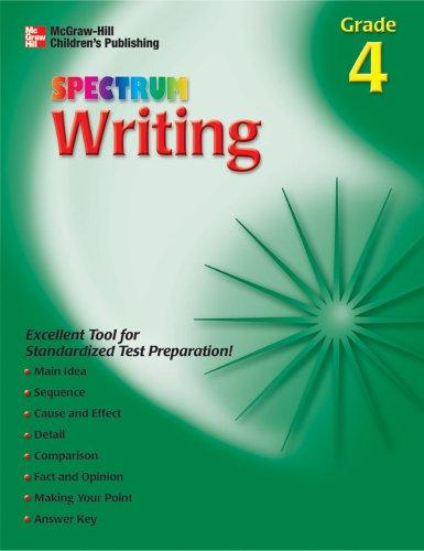 Download Spectrum Writing, Grade 4 (Spectrum)