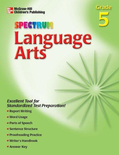 Download Spectrum Language Arts, Grade 5 (Spectrum)