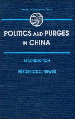 Download Politics and Purges in China