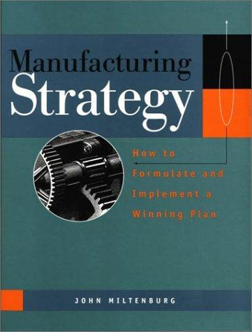Download Manufacturing Strategy