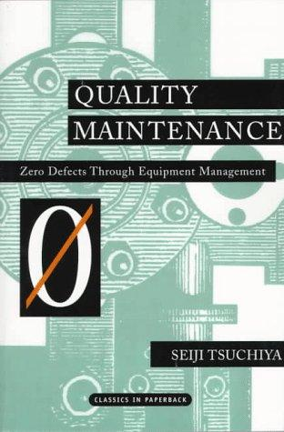 Download Quality Maintenance