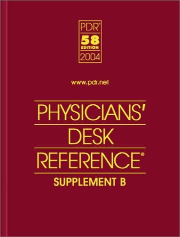 Download Physicians' Desk Reference 2004