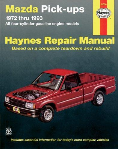 Mazda pick-ups automotive repair manual