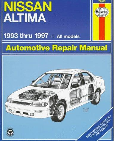 Download Nissan Altima automotive repair manual