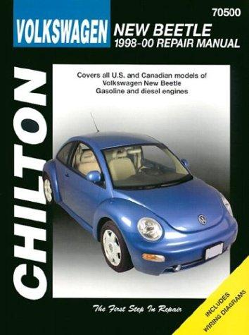 Volkswagen New Beetle: 1998-2000 (Chilton's Total Car Care Repair Manuals), The Chilton Editors