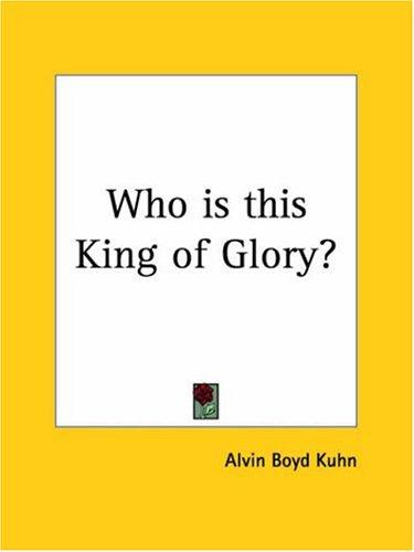 Download Who is this King of Glory?