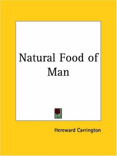 Download Natural Food of Man