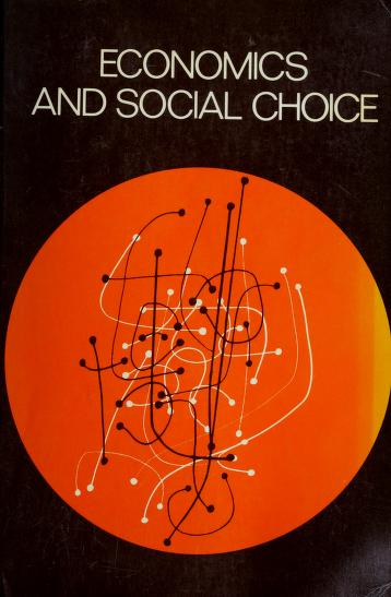 Economics and social choice by Jack W. Nickson