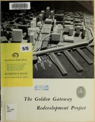 Golden Gateway redevelopment project by American Institute of Architects. Northern California Chapter