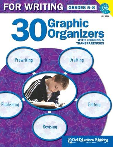 30 Graphic Organizers for Writing Gr. 5-8 by Christi E. Parker