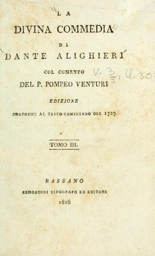 The Divine Comedy by Dante Alighieri