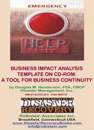 Business Impact Analysis Template by Douglas M. Henderson