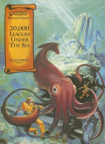 20,000 Leagues Under The Sea (Vingt mille lieues sous les mers) by Jules Verne