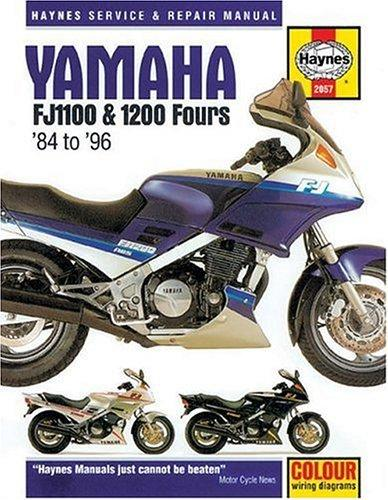 Yamaha FJ1100 & 1200 owners workshop manual by John Harold Haynes